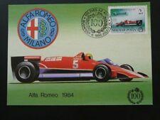 car race auto racing Formula 1 Alfa Romeo maximum card Hungary 72097