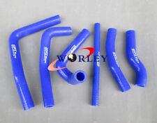 For Honda CR250R CR 250 R 2000 2001 00 01 silicone radiator coolant hose BLUE