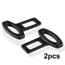 2pcs Auto Car Seat Belt Safe Buckle Plug Clasp Clip Alarm Stopper Accessories