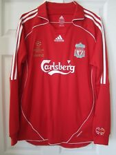 Adidas Liverpool 2007 Formotion Champions League Final Athens Football Jersey