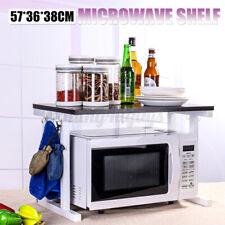 2-Tier Kitchen Microwave Oven Rack Storage Stand Holder Counter Organizer Shelf
