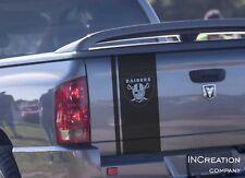 Oakland Raiders Emblem Tailgate Any Truck Vinyl Decal Sticker Football team logo