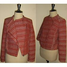 Veste PROMOD en 38 (F) en Tweed Rouge Brique Forme Perfecto TBE