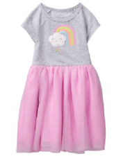 Gymboree Spring Vacation Rainbow Sparkle Tutu Dress Toddler Girl Size 2T NEW