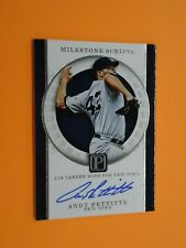 Andy Pettitte 2016 PANINI PANTHEON AUTO 15/25 Card #MS-AP YANKEES