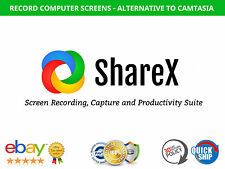ShareX - All-In-One Screen Recording, Capture and Productivity Tool
