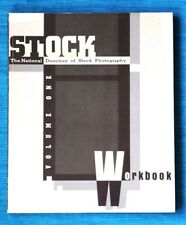 STOCK WORKBOOK,  The National Directory of Stock Photography. Vol 1, 1987. NEW!