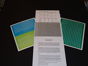 SPI's War In Europe Expansion Set. 3 Sheets Of Unmounted Counters Charts FREE SH