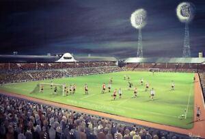 Newcastle United v Feyenord 1968 -  A3 print
