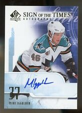 08-09 SP Authentic MIKE IGGULDEN AUTO SIGN OF THE TIMES