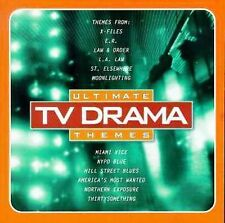 ULTIMATE TV DRAMA THEMES - X-FILES-ER-MIAMI VICE-NYPD BLUE - NEW SEALED CD
