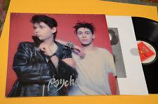 PSYCHE LP UNVEILING THE SECRET  ORIG FRANCIA 1986 EX+
