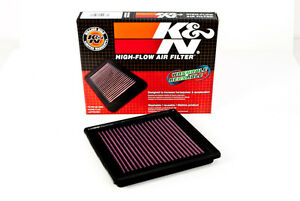 K&N Panel Air Intake Filter for 06-12 Nissan 350Z 370Z Infiniti G25 G35 G37 EX35