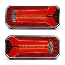 2x 12V 24V LED Rear Tail Position Lights  for Truck Scania MAN Iveco DAF Volvo