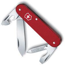 SWISS ARMY VICTORINOX 53043 CADET RED ALOX MULTI FUNCTION POCKET KNIFE.