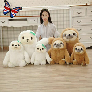 Giant Sloth Stuffed Plush Soft Teddy Toys Pillow Cushion Gifts Animal Cute Doll