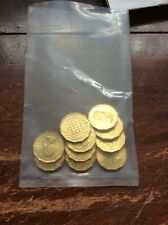 10 Old  1967. Threepenny Gb Coins. Uncirculated