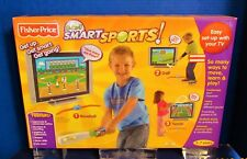 NEW Fisher Price SMART SPORTS VIDEO GAME Ages 3-7 Baseball Tennis Golf