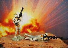Hasbro Star Wars LFL 1:32 Soldier Figure Clone Trooper COMMANDER BLY Battalion