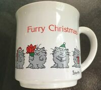 "Recycled Paper Products ""Furry Christmas"" Mug-Sandra Boynton Vintage"