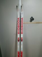 Svoboda Cross Country Skis With Bindings Rottefella Junior Size 140 Cm