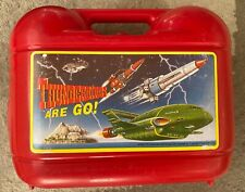 Thunderbirds Lunchbox with 2 Flasks Gerry Anderson Spearmark Vintage 1991