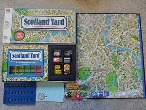 Scotland Yard (Board Game, 1985) Milton Bradley Ravensburg strategy COMPLETE