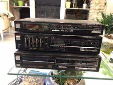FISHER Ampli Amplificateur Hifi CA-223, Tuner FM FM-225, Lecteur CD AD-931