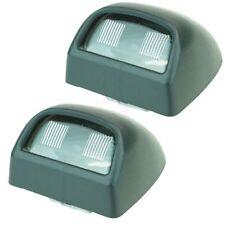 Rear License Plate Light Lens Pair Set for Silverado Sierra Pickup Escalade