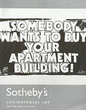 Sotheby `s catálogo Arte Contemporáneo 2007