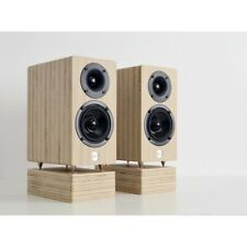 More details for well rounded sound mm2 (mini monitor 2 way)beech finish standmounters