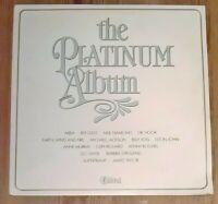 Various – The Platinum Album Vinyl LP Compilation 33rpm 1981 K-tel – NE 1134