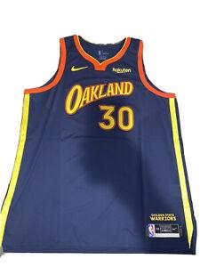 Men's Steph Curry Oakland Forever City Golden State Warriors Jersey 56 XXL