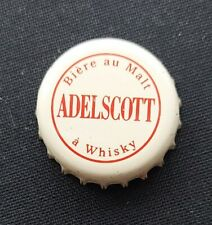 Ancienne capsule Bière  Adelscott  whisky