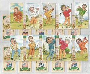 1992 Ritchie & Co Fairways Favourites - Full Mint Set of Golf / Golfing Cards