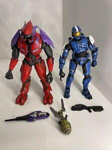 Mcfarlane Halo Combat Elite 2 Pack! Loose Read Desrip.