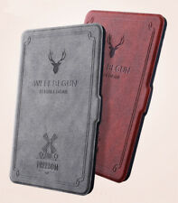 Amazon Kindle Oasis 2 Paperwhite Vintage Folding PU Leather Book Case Cover