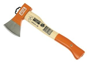 Bahco Standard Hand Axe Curved Handle Carbon Fibre Wedge 800g HGPS-0.6-360