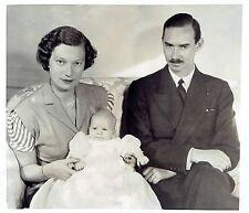1954 Vintage Photo Belgium Princess Marie-Astrid Josephine-Charlotte Prince Jean