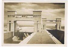 KEMBS sur le RHIN Centrale Hydroélectrique Photo ALBIETZ de Mulhouse vers 1932