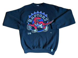 Vintage Toronto Raptors Sweatshirt Logo 7 Adult Size Large