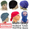 Headband Seamless Bandana Turban Chemo Cover Hairband Scarf Head Wrap Headwrap