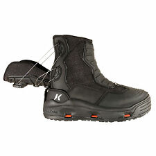 SIZE 13 KORKERS HATCHBACK REAR ENTRY WADING FISHING BOOT STUDDED+KLING-ON RUBBER