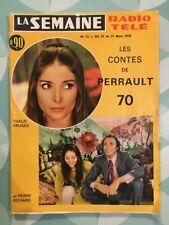 LA SEMAINE RADIO TELE n 12 Mars 1970 - Thalie FRUGES Pierre RICHARD FERNANDEL