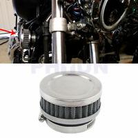 1x Motorrad Luftfilter Nachrüstfilter 48-52mm für Kawasaki Honda Yamaha Suzuki