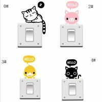 For Kids Bedroom Wall Stickers Switch Stickers Animal Sticker Home Decor