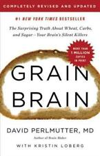 Grain Brain The Surprising Truth About Wheat Carbs and Sugar Hardcover US Ver