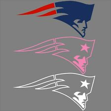 New England Patriots Decals!  Team Colors, White, Pink, Free Shipping!