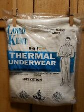 Vintage Lord Kent Xl Long Sleeve Thermal Shirt Brand New in Package Rn 15373