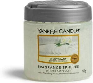 Yankee Candle Fragrance Spheres Air Freshener *BRAND NEW* Fluffy Towels